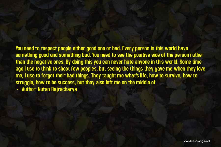 When You Think Positive Quotes By Nutan Bajracharya