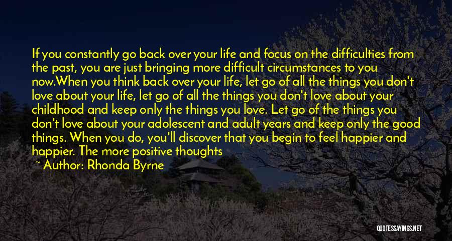 When You Think Positive Quotes By Rhonda Byrne