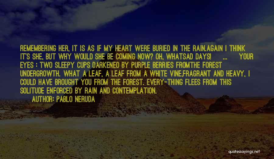 When Your Heart Is Heavy Quotes By Pablo Neruda