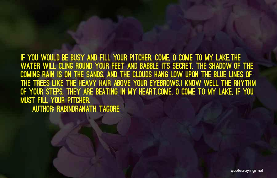 When Your Heart Is Heavy Quotes By Rabindranath Tagore