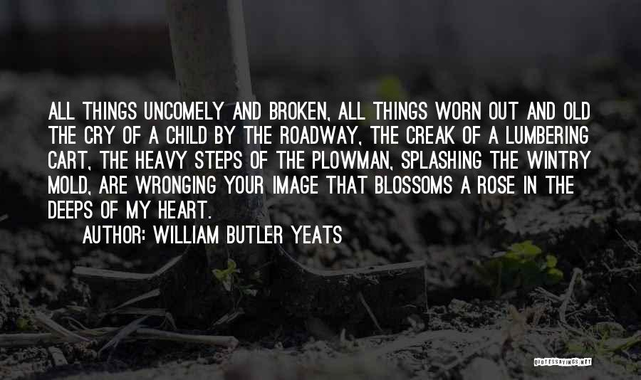 When Your Heart Is Heavy Quotes By William Butler Yeats