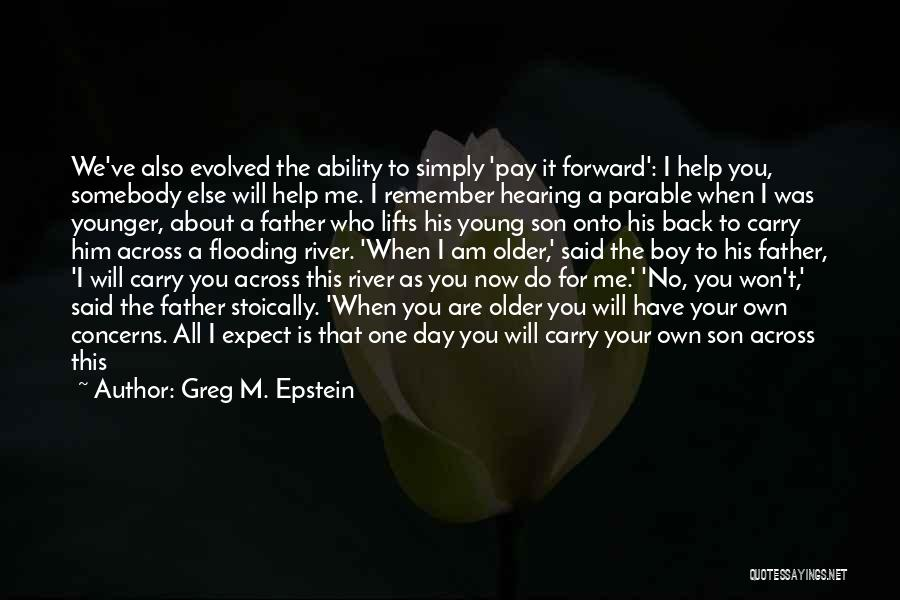 When You're Not Important To Him Quotes By Greg M. Epstein