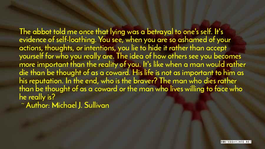 When You're Not Important To Him Quotes By Michael J. Sullivan