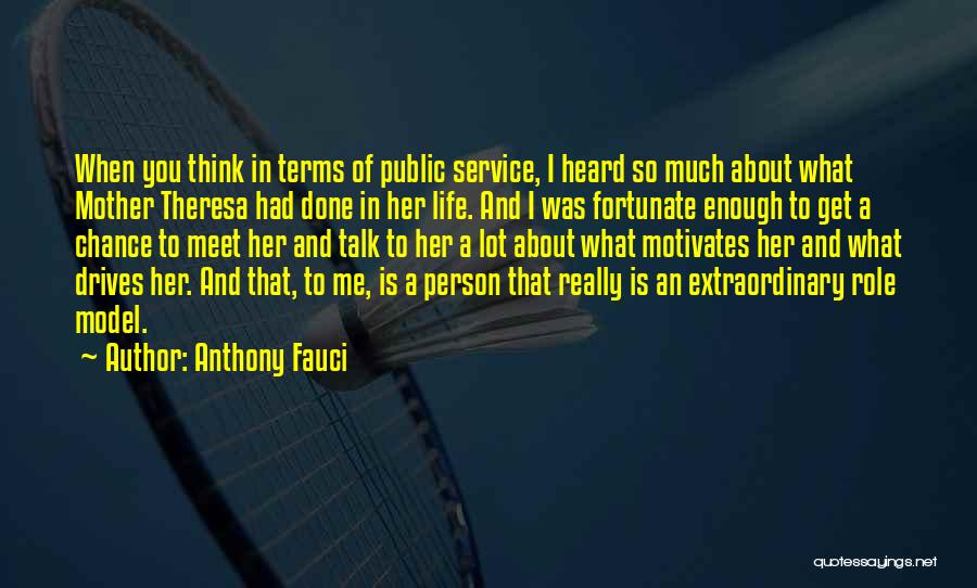 When You've Had Enough Of Life Quotes By Anthony Fauci