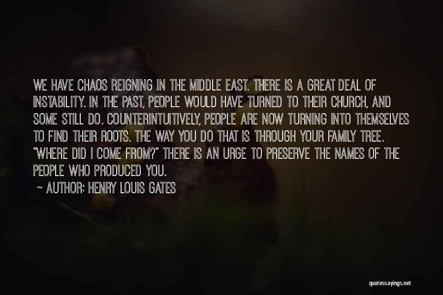 Where Did You Come From Quotes By Henry Louis Gates