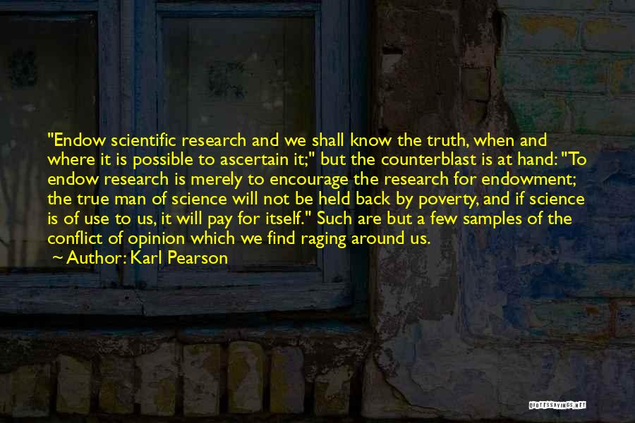 Where Is The Truth Quotes By Karl Pearson