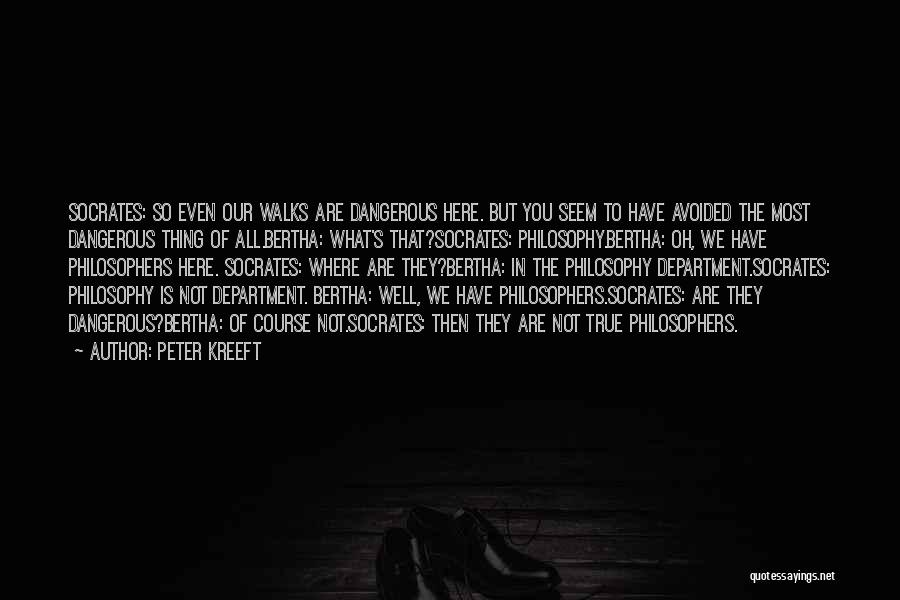 Where Is The Truth Quotes By Peter Kreeft