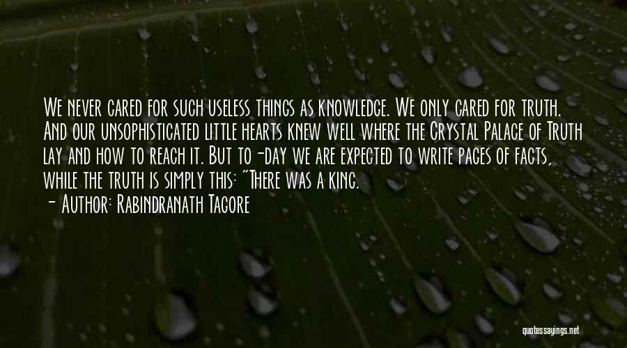 Where Is The Truth Quotes By Rabindranath Tagore