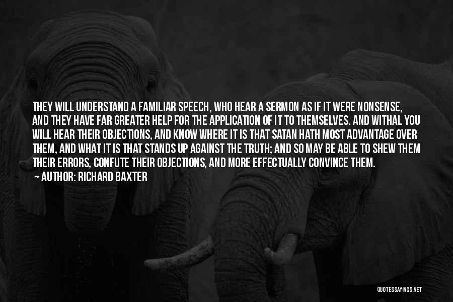 Where Is The Truth Quotes By Richard Baxter
