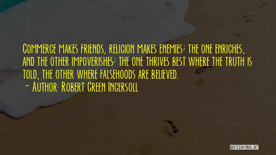 Where Is The Truth Quotes By Robert Green Ingersoll