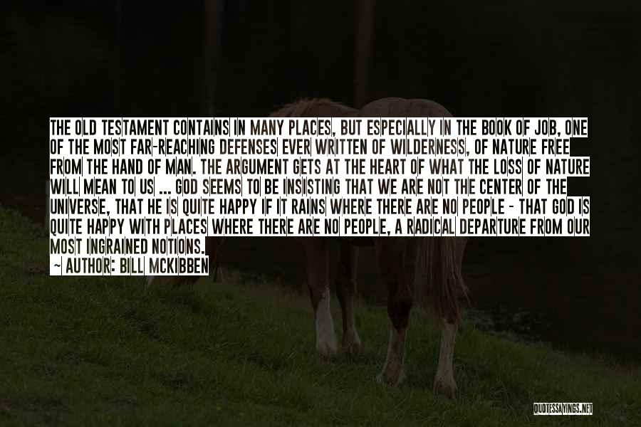 Where The Heart Is Book Quotes By Bill McKibben