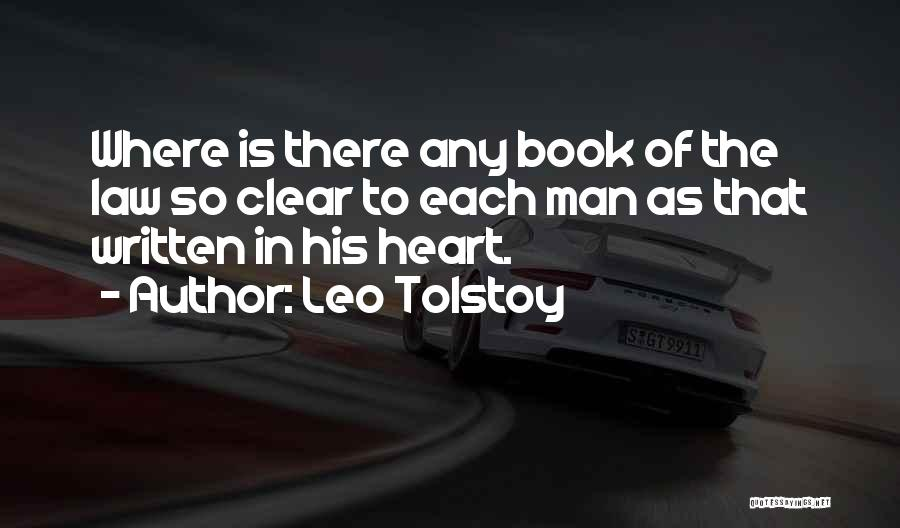 Where The Heart Is Book Quotes By Leo Tolstoy