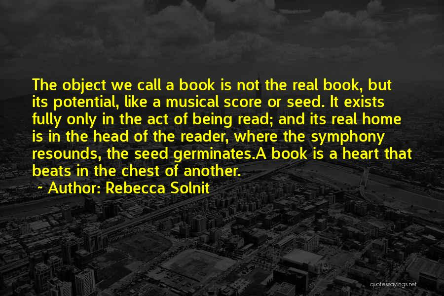 Where The Heart Is Book Quotes By Rebecca Solnit