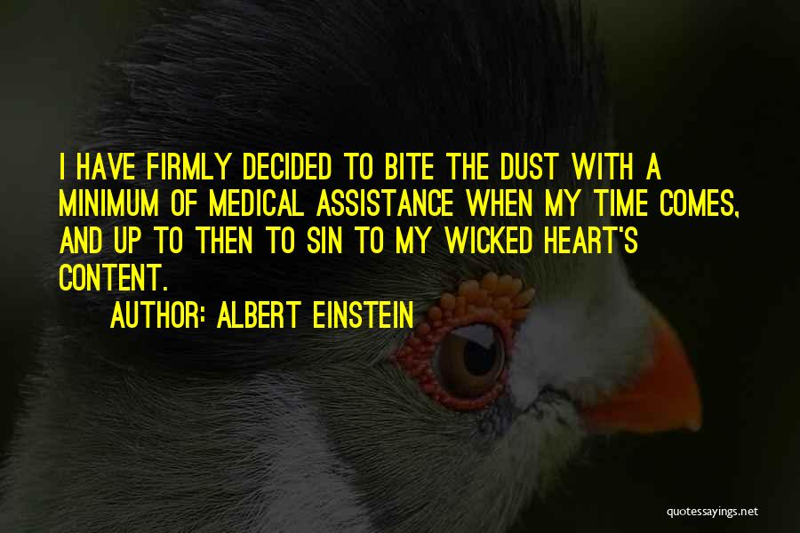 Where The Heart Is Memorable Quotes By Albert Einstein