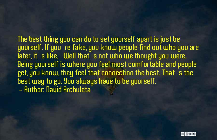 Where To Go Quotes By David Archuleta