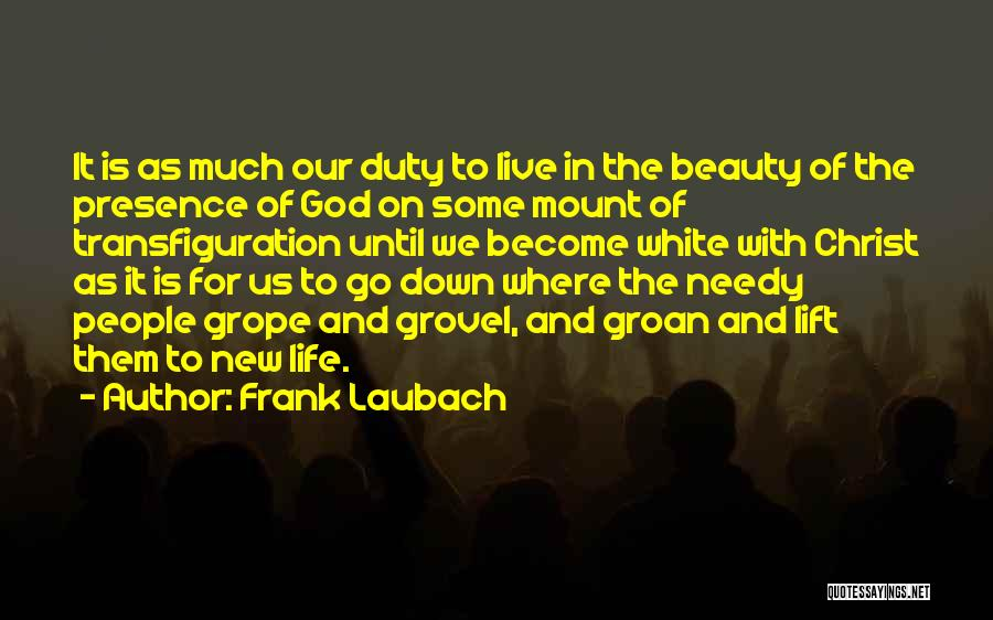 Where To Go Quotes By Frank Laubach