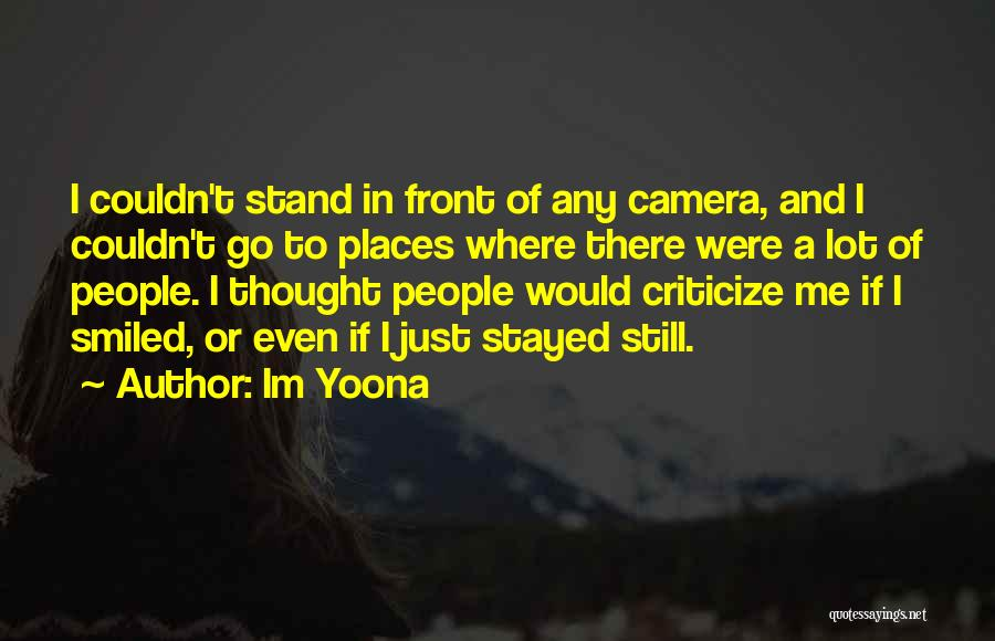 Where To Go Quotes By Im Yoona