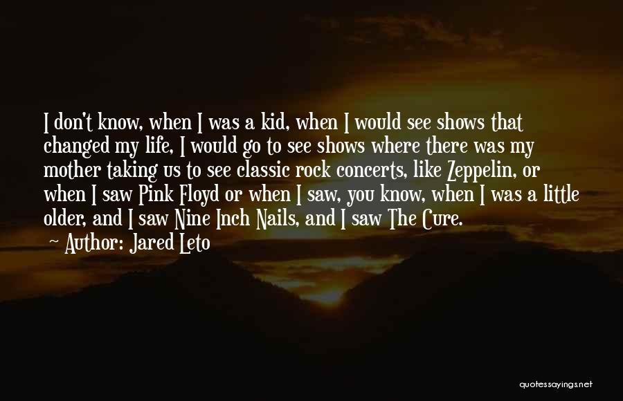 Where To Go Quotes By Jared Leto
