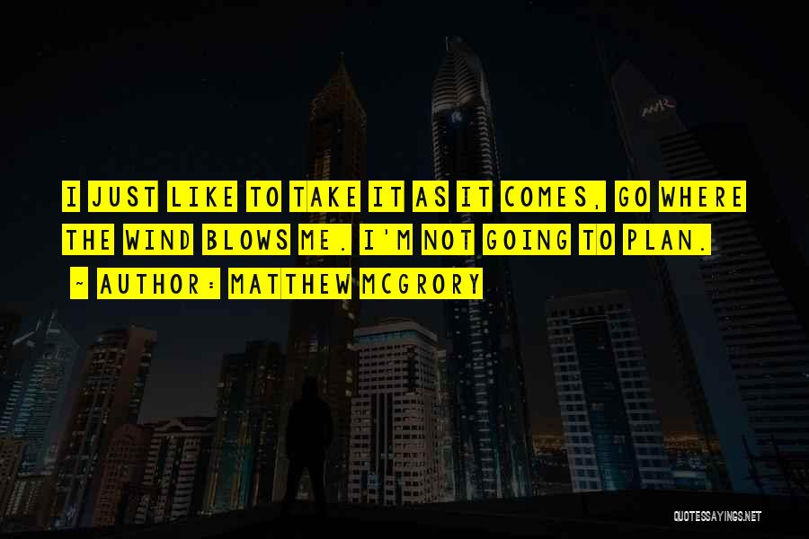 Where To Go Quotes By Matthew McGrory