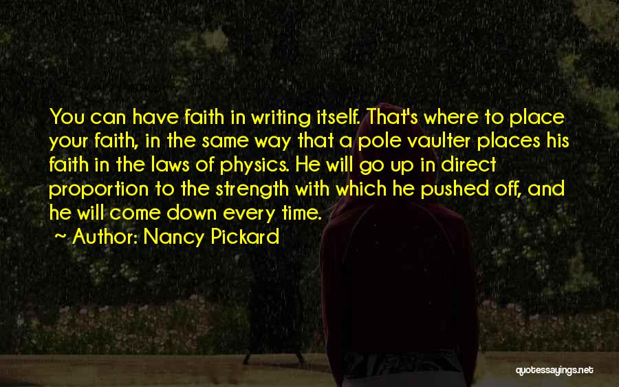 Where To Go Quotes By Nancy Pickard