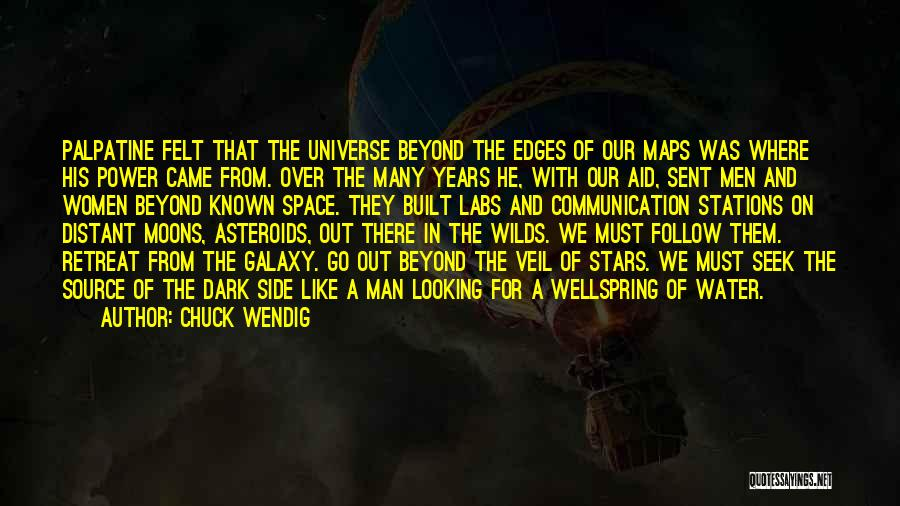 Where We Came From Quotes By Chuck Wendig