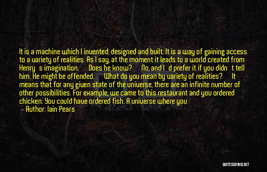 Where We Came From Quotes By Iain Pears