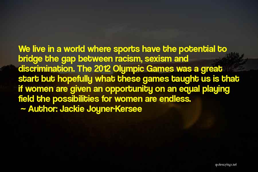 Where We Live Quotes By Jackie Joyner-Kersee