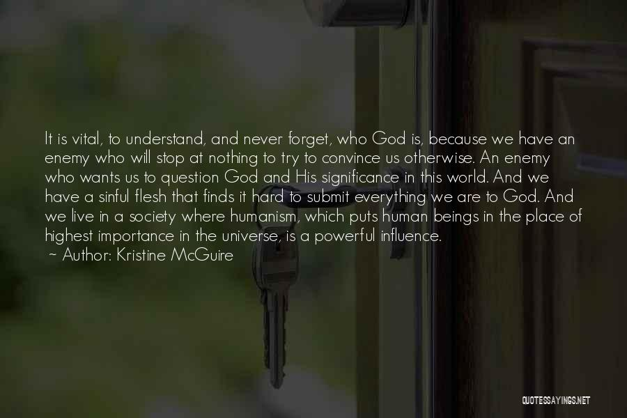 Where We Live Quotes By Kristine McGuire