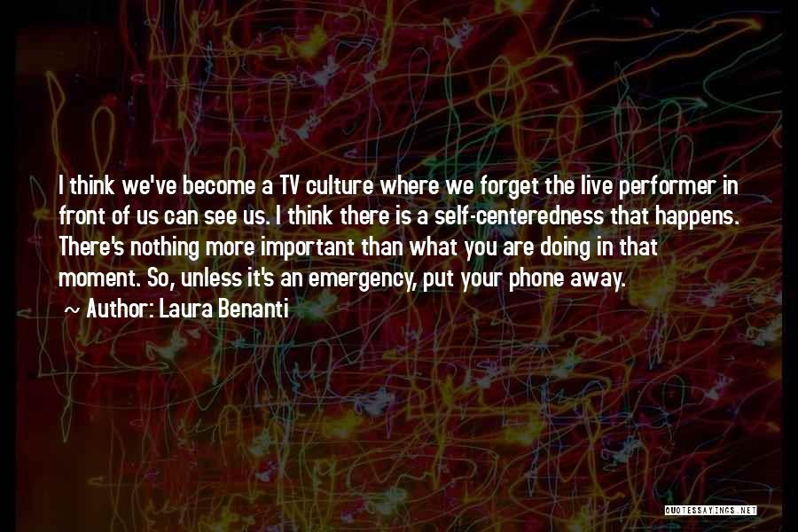 Where We Live Quotes By Laura Benanti