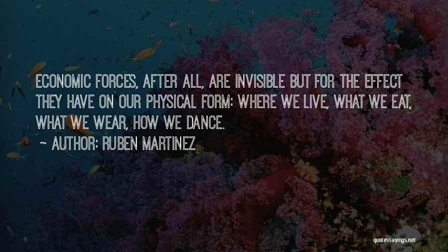 Where We Live Quotes By Ruben Martinez