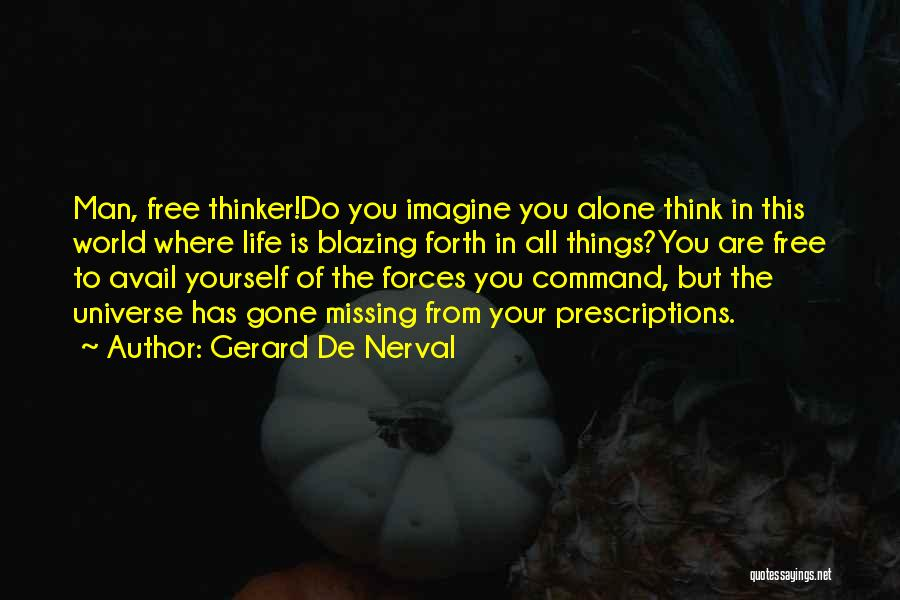 Where You Are In Life Quotes By Gerard De Nerval