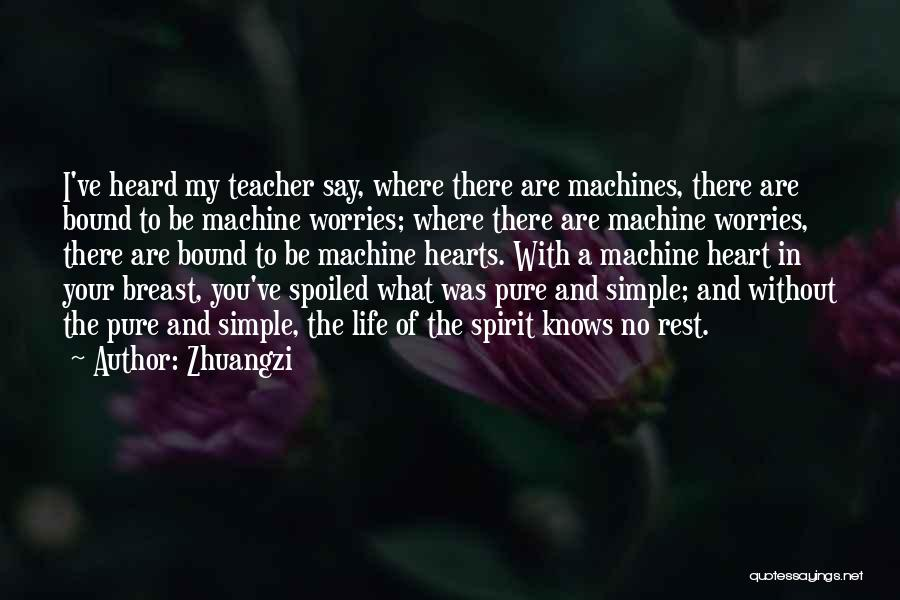 Where You Are In Life Quotes By Zhuangzi