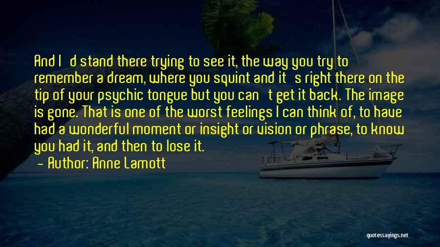 Where You Stand Quotes By Anne Lamott