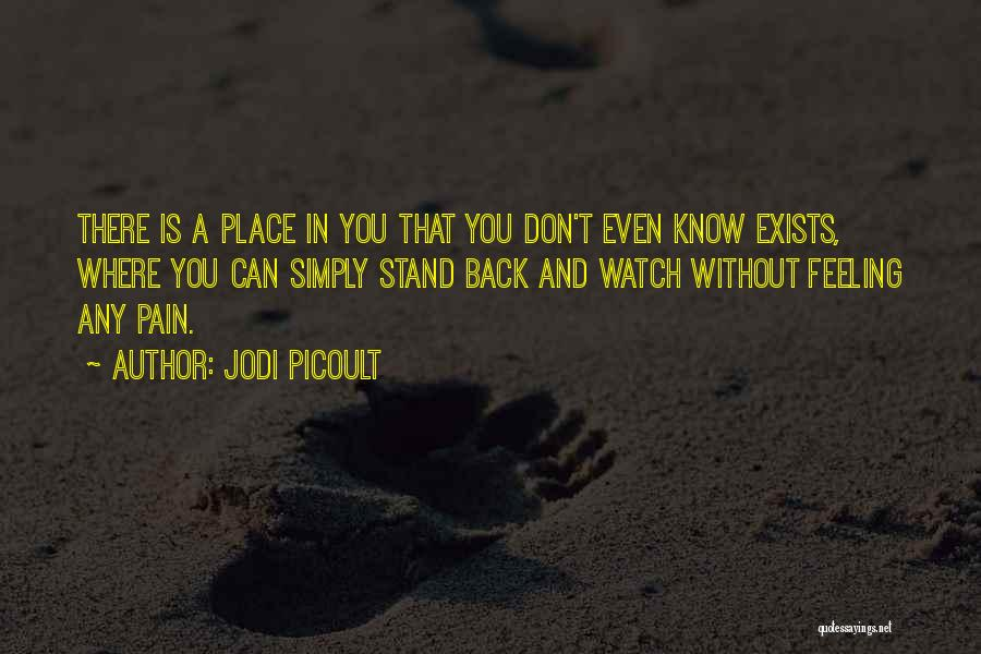 Where You Stand Quotes By Jodi Picoult