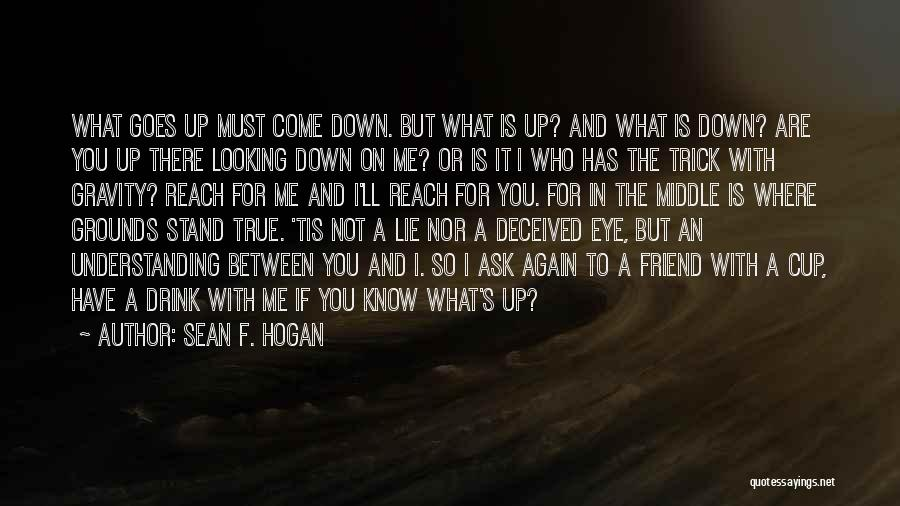 Where You Stand Quotes By Sean F. Hogan