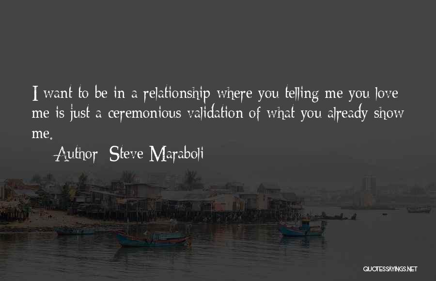 Where You Want To Be In Life Quotes By Steve Maraboli