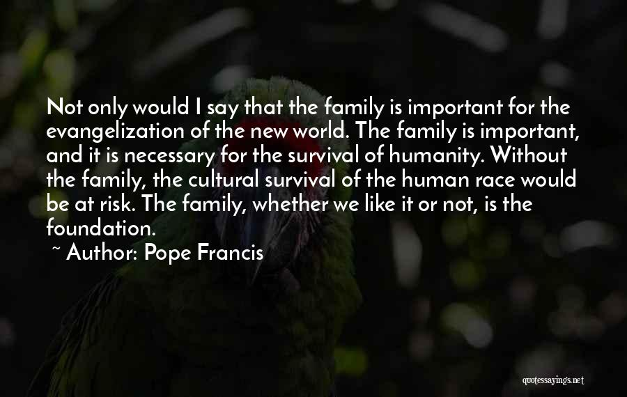 Whether We Like It Or Not Quotes By Pope Francis