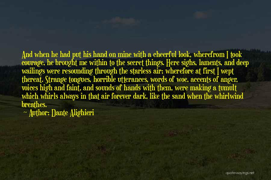 Whirlwind Quotes By Dante Alighieri