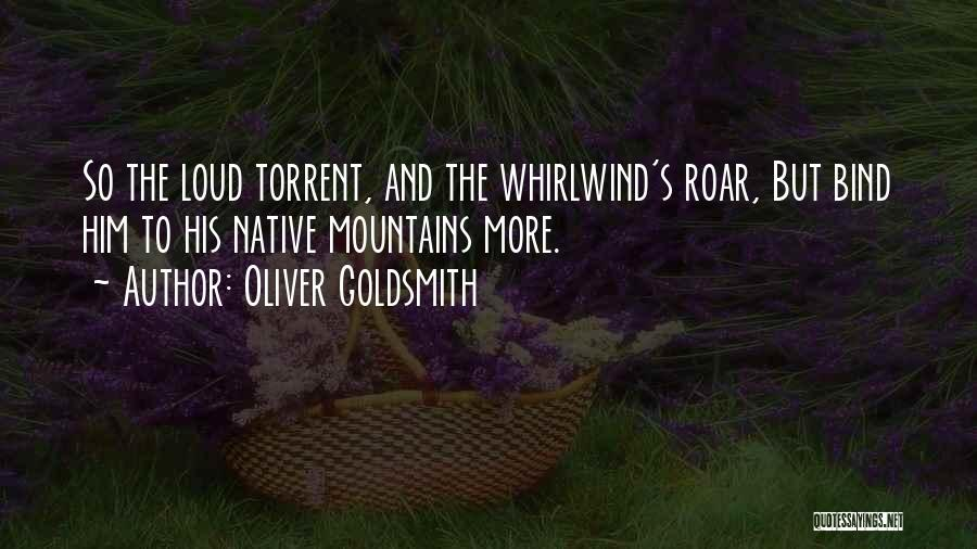Whirlwind Quotes By Oliver Goldsmith