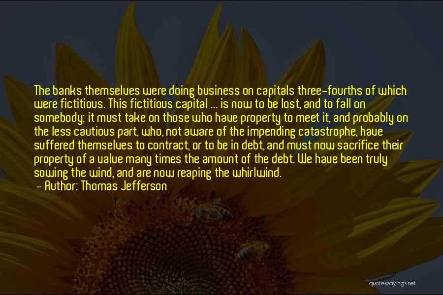 Whirlwind Quotes By Thomas Jefferson