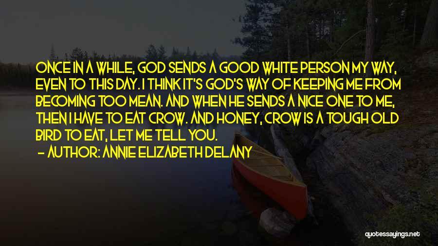 White Bird Quotes By Annie Elizabeth Delany