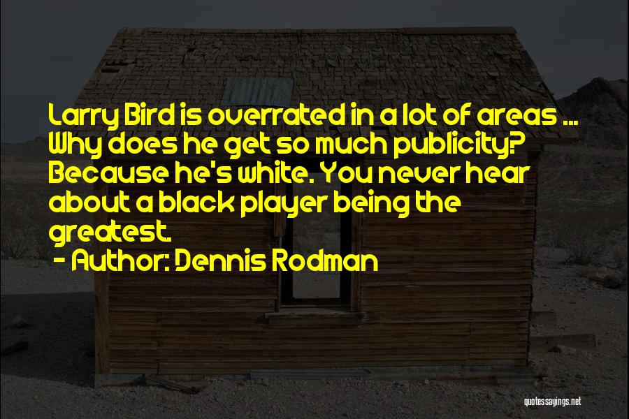 White Bird Quotes By Dennis Rodman