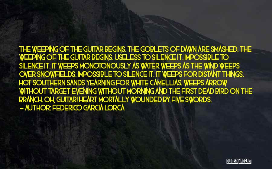 White Bird Quotes By Federico Garcia Lorca