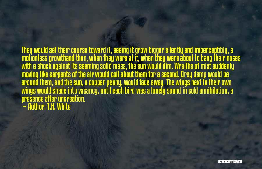 White Bird Quotes By T.H. White