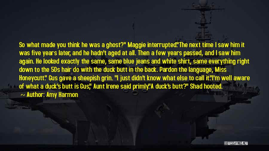 White Duck Quotes By Amy Harmon