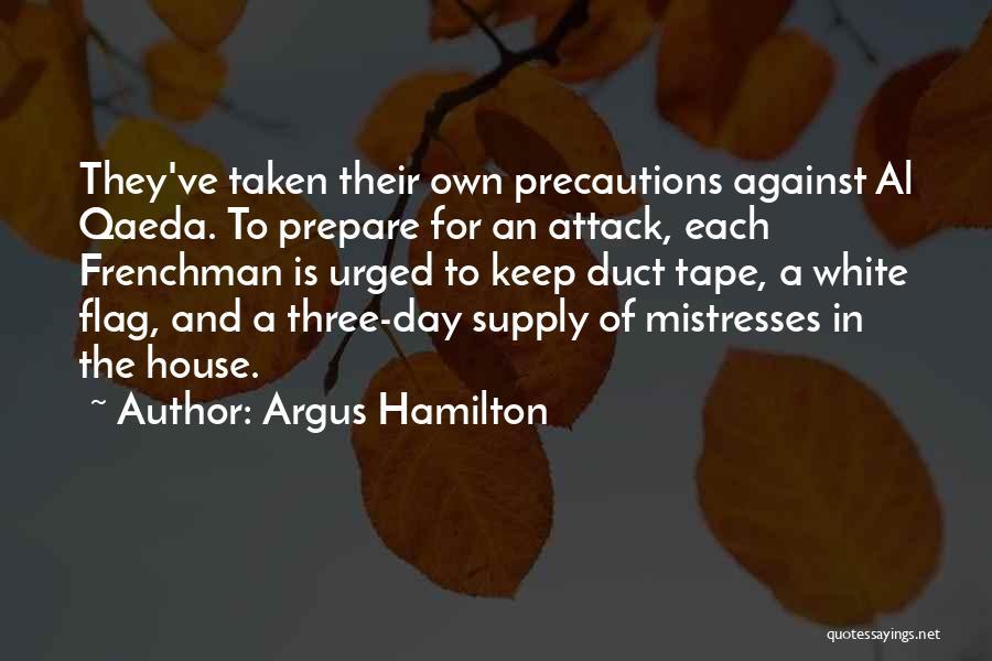 White Flag Quotes By Argus Hamilton