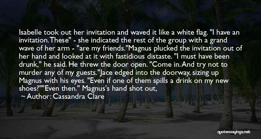White Flag Quotes By Cassandra Clare
