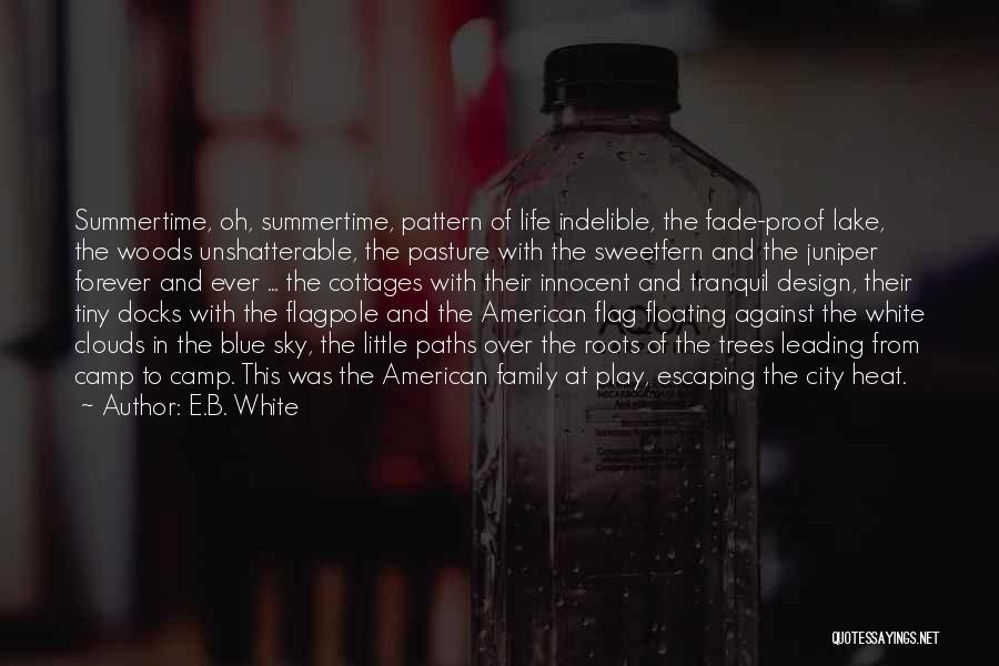 White Flag Quotes By E.B. White