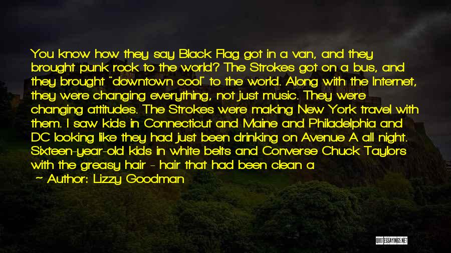 White Flag Quotes By Lizzy Goodman