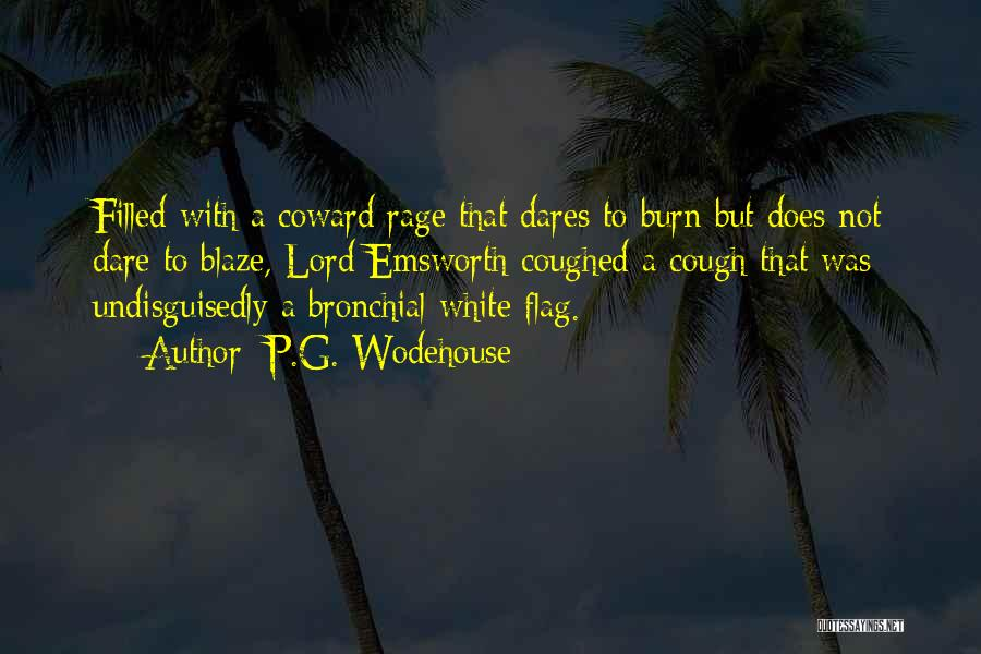 White Flag Quotes By P.G. Wodehouse